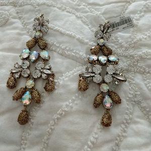 JCrew chandelier earrings